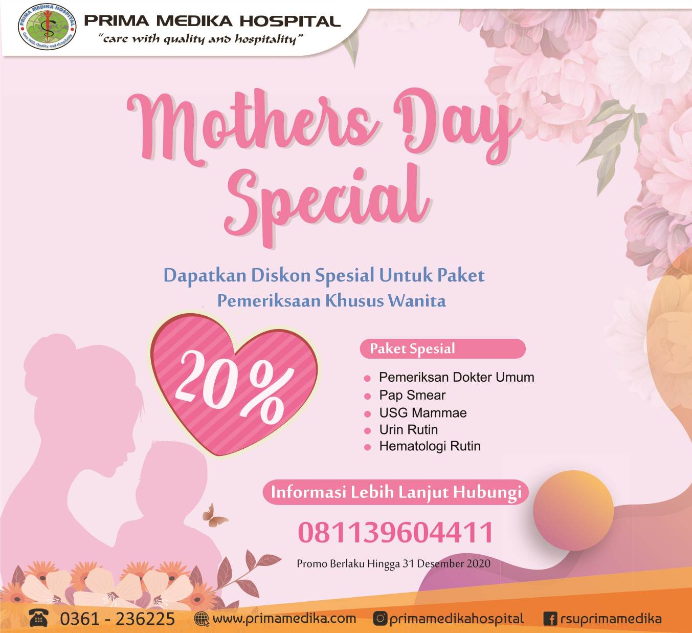 """Spesial Promo ! """"Mothers Day Spesial"""""""