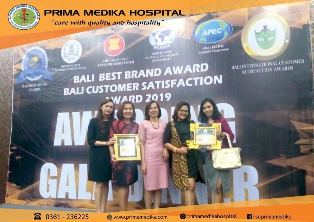 Achievement, Bali Customer Satisfation Award 2019 !