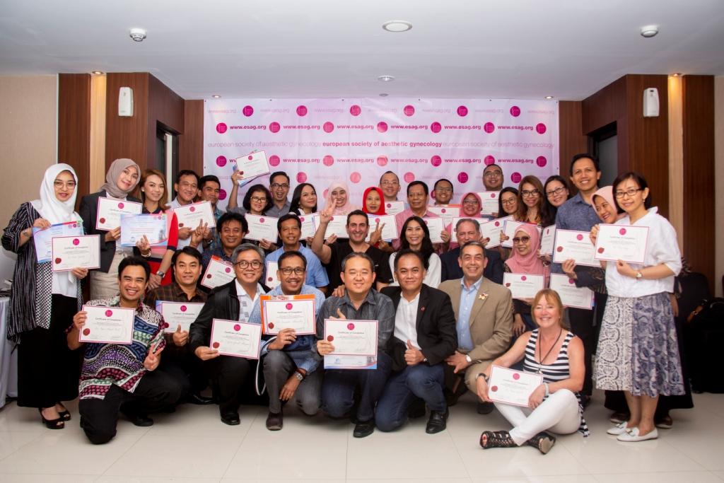 International Workshop Training Courses Aesthetic Gynecology