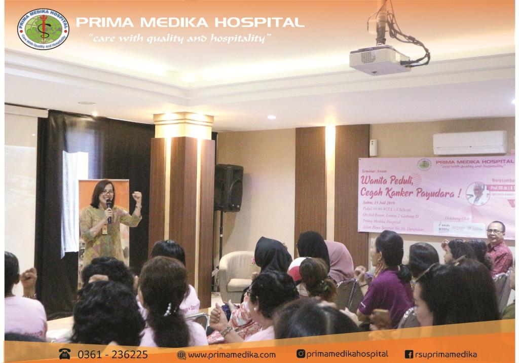 Launching Layanan BRCA 1 dan 2 Gen Test Pertama di Bali. dan Seminar edukasi Kanker payudara