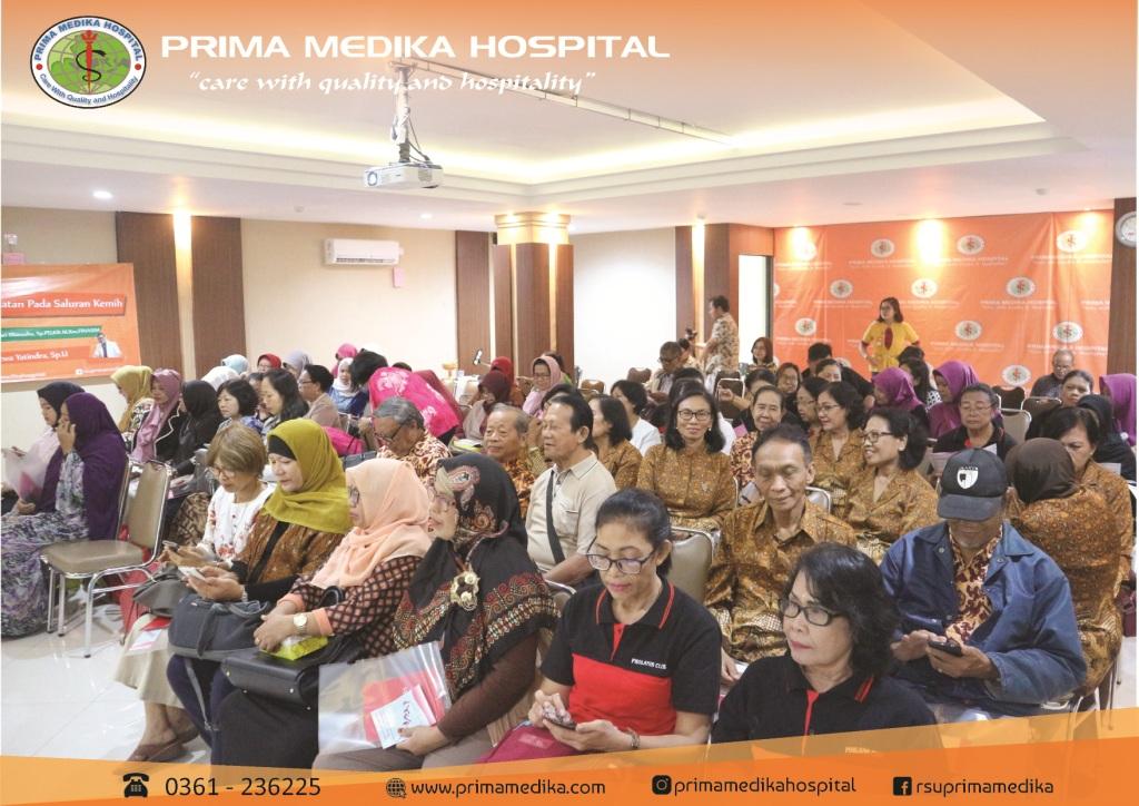 """Seminar Awam """"Problematika Kesehatan Pada Saluran Kemih"""" 29 Juni 2019"""