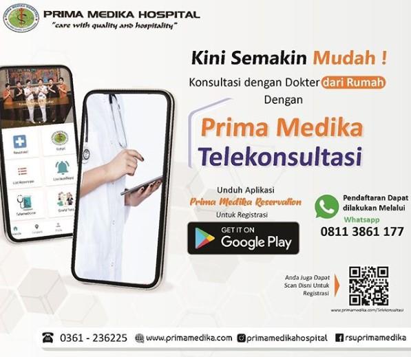 Konsultasi Lebih Mudah Dengan Layanan Telekonsultasi Prima Medika Hospital