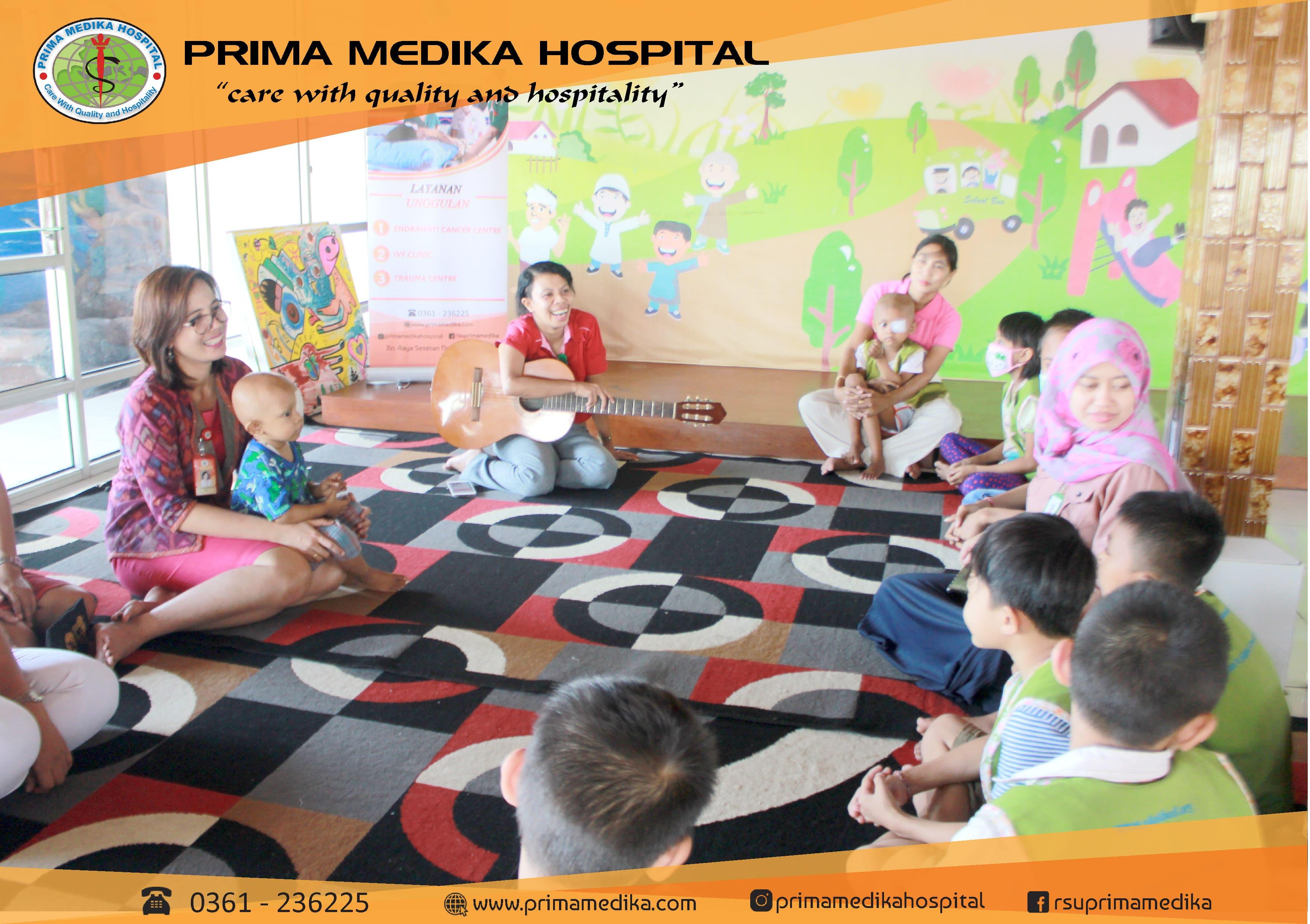 Prima Medika Hospital KunjungiRumah Singgah Yayasan Peduli Kanker Anak Bali