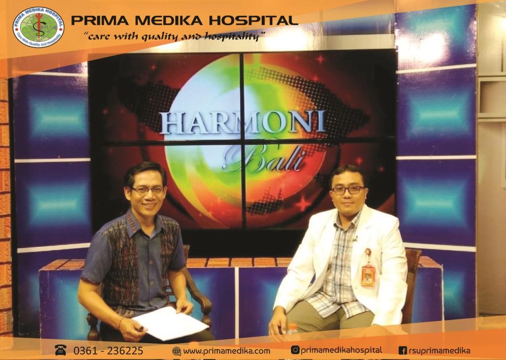 "Talkshow Harmoni Bali TV ""Pencegahan Penularan HIV Pada Anak"""