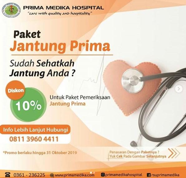 yuk dapatkan diskon pemeriksaan jantung 10% hanya untuk anda !